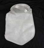 "7"" x 16"" Felt Filter Bag w/ Internal Steel Ring - 100 Micron ***CLEARANCE***"