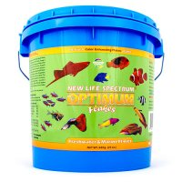 New Life Spectrum Optimum Fish Food - Freshwater & Marine Floating Flakes - 600g