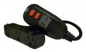 Deep Blue GFCI Ground Control Outlet Adapter