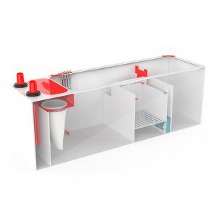 "Pro Clear RED FLEX 4 in 1 Sump 600 - 60""x18x20"""