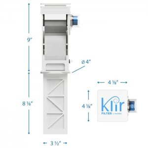 Klir Automatic Drop-In Filter 4""